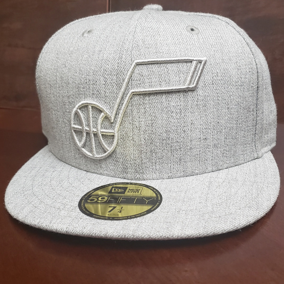 """New Era 5950 Oakland Raiders /""""Twisted Frame/"""" Fitted Hat Men/'s NFL Cap Grey"""